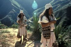 The Arhuaco are an indigenous people of Colombia. They are Chibchan-speaking people and descendants of the Tairona culture, concentrated in northern Colombia in the Sierra Nevada de Santa Marta. Sierra Nevada, Colombian People, Colombian Cities, Colombian Art, Ecuador, Santa Marta, Colombia South America, Tribal People, Survival