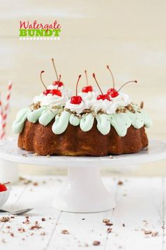 Watergate Bundt Cake