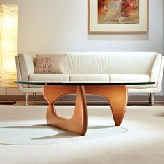 I am lucky to have a repro Noguchi coffee table of my own. I love it.