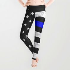 Hey, I found this really awesome Etsy listing at https://www.etsy.com/listing/243168677/thin-blue-line-leggings