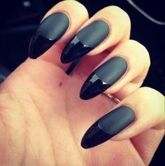 Black Nail Matte