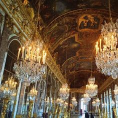 Another from the #palaceofversailles  #flairhome #beyond #chic #travel #beauty #lifestyle #style #architecture #interior #style #design #ornate #france #lux #mood #versailles