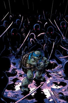 TMNT - Leonardo by `mooncalfe on deviantART