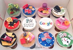 Mixed Theme Cupcakes