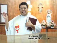 Salita ng Diyos, Salita ng Buhay (25 January 2014) @ TV Maria