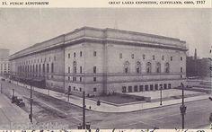 Public Auditorium Great Lakes Exposition Cleveland Ohio 1939 | eBay