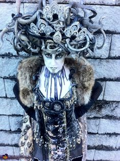 Art Deco Medusa - Halloween Costume Contest via @costumeworks