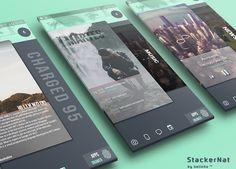 StackerNat for Klwp: miniatura de captura de pantalla
