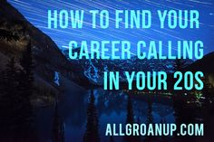 Today I'm excited to bring you this excellent guest-post from Anthony Moore, the founder of StuffGradsLike.com and author of the new book Buyer's Remorse: The Life You Thought You Wanted in Your 20s. Enjoy! What's career calling? Seems like a cruel joke nowadays, huh? You might be reading this from your bare-bones cubicle in between …