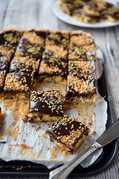 Polish Desserts, Polish Recipes, Easter Recipes, Dessert Recipes, Polish Easter, No Bake Bars, Foods With Gluten, Sweet Recipes, Dessert