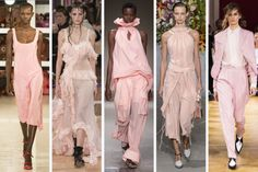 The Top 9 Runway Trends From the Spring 2018 Shows | Fashionista
