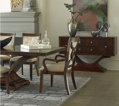 The Dolce dining room collection by Somerton Dwelling.