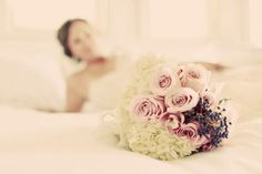 A whole different approach to making a bouquet! Love!