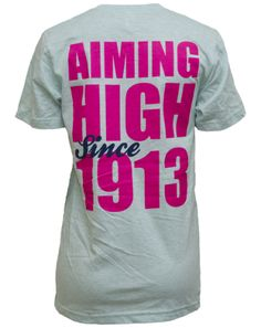 Phi Sigma Sigma Aiming High Tee