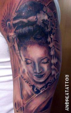 Gheisha tattoo