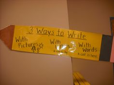 ways to write anchor chart