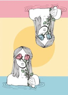 Illustrations That Perfectly Capture The Loneliness Of Womanhood. Art by Elliana Esquivel