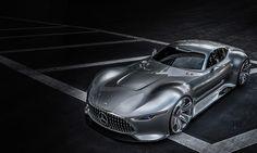 The Mercedes-Benz AMG Vision Gran Turismo.