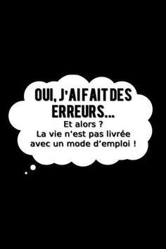 erreurs ...