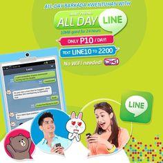 All Day LINE with SMART Prepaid   Cebu Finest