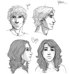 Clary and Jace by palnk.deviantart.com on @deviantART