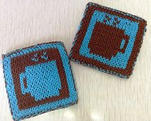 Ravelry: Hot Cuppa Coasters pattern by Chana Tyman-Levy. Free pattern