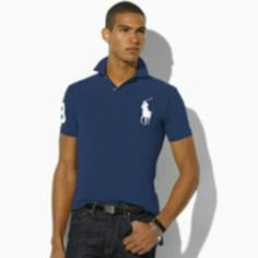 Slim-Fit Big Pony Polo