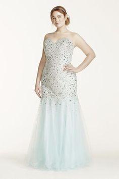 9c1455e36703f 12 Plus Size Prom Dresses You ll Love!