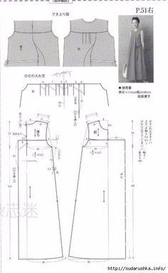 Japanese book and handicrafts - MRS Style Book Sewing Patterns Free, Sewing Tutorials, Clothing Patterns, Free Pattern, Sewing Collars, Japanese Sewing, Dress Making Patterns, Boho Diy, Pattern Drafting