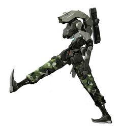 ArtStation - Robot Soldier, Chang Woo Lee