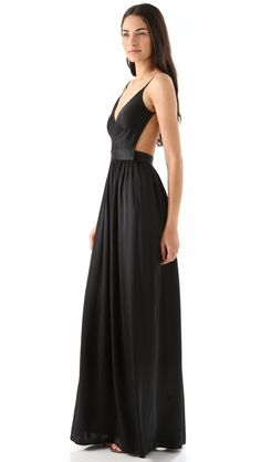 (IN GREEN!!) ONE by Contrarian Babs Bibb Maxi Dress