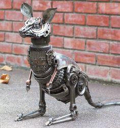 Scrap Metal Kangaroo