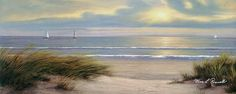 Gentle Breeze Panoramic Painting  - Gentle Breeze Panoramic Fine Art Print