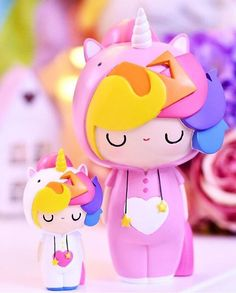 Litte Starlight Girl & Starlight Girl Very special dolls for 2016 by Momiji Permission to DREAM #unicorn #myunicornlife #limitededition #rainbows Instagram by pempikbulut