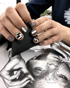 Manicure 2017, Mani Pedi, Pop Art Nails, Cool Nail Art, Pretty Hands, Beautiful Hands, Cute Nail Art Designs, Gorgeous Nails, Nail Inspo