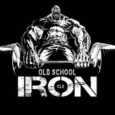 "314 gilla-markeringar, 6 kommentarer - Jerry Beck (@illustratusmaximus) på Instagram: ""Done. New design for Cleveland's hardcore training facility, OSI...Old School Iron. ✒✏ #IfbbPro…"""