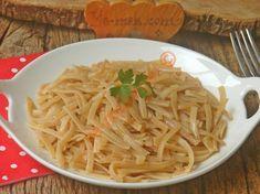 Sebzeli Arpa Şehriye Pilavı Tarifi, Nasıl Yapılır? (Resimli)   Yemek Tarifleri Weekly Menu, Spaghetti, Cooking, Ethnic Recipes, Food, Easy Meals, Bulgur, Kitchen, Kochen