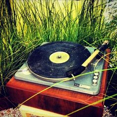 outdoor record player