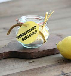 Kulissenbummel Zitronenzucker