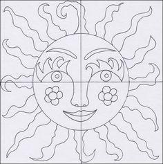 Slunce – teplé a studené barvy