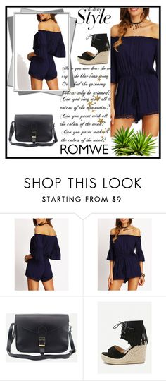"""""""ROMWE #7"""" by begicdamir ❤ liked on Polyvore"""