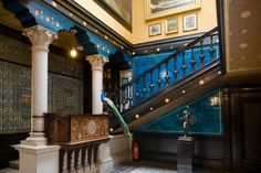 Aesthetic Movement Stair Hall