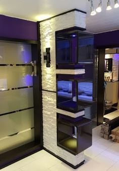 40 Chic Glass Partition Design Ideas For Your Living Room Room Partition Wall, Living Room Partition Design, Living Room Tv Unit Designs, Interior Design Living Room, Glass Partition Designs, Wall Design, House Design, Modern Tv Wall Units, Decorative Room Dividers