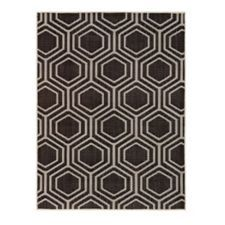 CANVAS Honeycomb Outdoor Rug is designed with a honey comb style and is durable due to the woven construction UV treated polypropylene and woven latex back Triangle Design, Circle Design, Outdoor Rugs, Outdoor Living, Rugs And Mats, Canadian Tire, Honeycomb, Flooring, Canvas