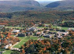 East Stroudsburg University, in the Poconos of PA
