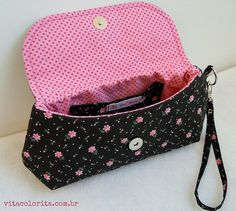 Bolsa Claire by Atelier VITA COLORITA, via Flickr
