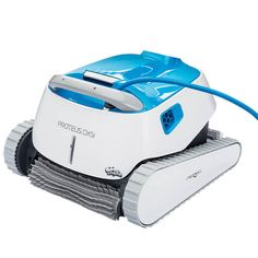 Dolphin Proteus is a robotic pool cleaners,.with anti-tangle cord, 1 or 2 hour cleaning modes, and remote control with the bluetooth MyDolphin App, the has it all.
