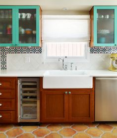 1920s Kitchen Remodel eclectic kitchen