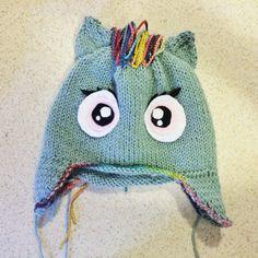Rainbow Dash knitting pattern coming soon to knitsbybritt.com