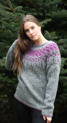 100% Hand Made Wool Sweater Knit Women Fashion Wide Loose Sweater Customize Good Companions For Children As Well As Adults Sweaters